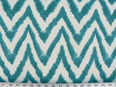 Drapery Upholstery Fabric 100/% Cotton Tie-Dye Ikat Slub Yellow