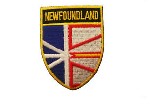 BRITISH COLUMBIA Black Shield CANADA Provincial FLAG Iron-On PATCH CREST BADGE