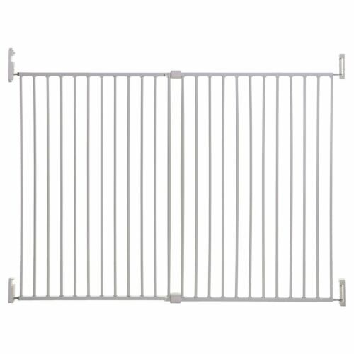 136cm Dreambaby Extra Wide Broadway Baby Stair Gate Screw Fit 76cm