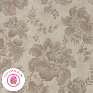Happily Ever After BTY Jacqueline Paton Red Rooster Tonal Star Floral Brown