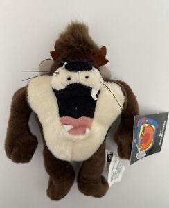 "1999 Warner Bros Studio Store Taz 6"" Mini Bean Bag-Beanie"