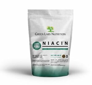 NIACIN-Nicotinic-Acid-Pure-Powder-Vitamin-B3-Cholesterol-Heart