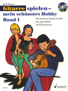 Rolf-Toennes-Gitarre-spielen-mein-schoenstes-Hobby-Band-1-Noten-mit-CD
