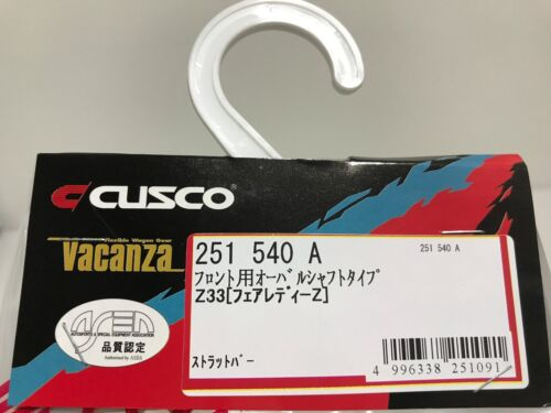NEW CUSCO JAPAN TYPE OS FRONT UPPER STRUT TOWER BRACE BAR FOR 03-09 NISSAN 350Z