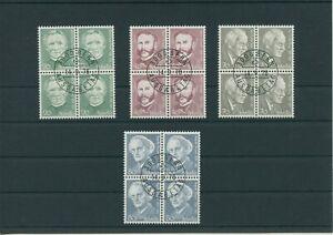 Switzerland-vintage-yearset-1978-Mi-1137-1140-Postmarked-4-er-Bl-More-Shop