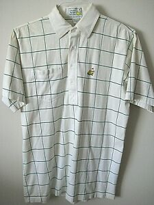 Used-Augusta-National-Golf-Shop-Slazenger-Men-039-s-Medium-Polo-Shirt-Has-Spots
