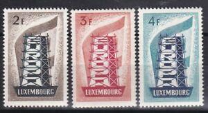 PROMO-LUXEMBOURG-EUROPA-1956-YT-514-515-516-N-COTE-600-a-7-DE-LA-COTE