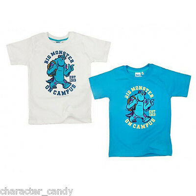 MONSTERS UNIVERSITY T-SHIRT MONSTERS INC TSHIRT SULLEY AGE 2-9 YRS *NEW*    223
