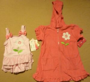 One Piece Swimsuit /& Coverup Set  ~ Size 18 Months ~ NWT 2 Piece Penny M