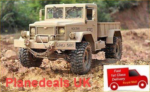 Cruz HC4 4WD Camión Off Road RC ROCK CRAWLER Modelo  533mm de largo