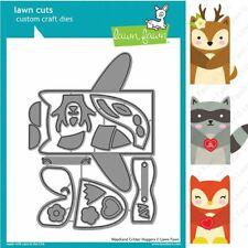 Lawn Fawn Lawn Cuts Single Cutting Die ~ HAPPY BIRTHDAY BORDER Cursive ~ LF852