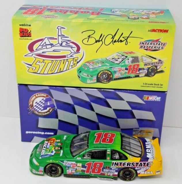 Action Bobby Labonte #18 Interstate Batteries //Nascar Racers1//24 Die Cast MINT