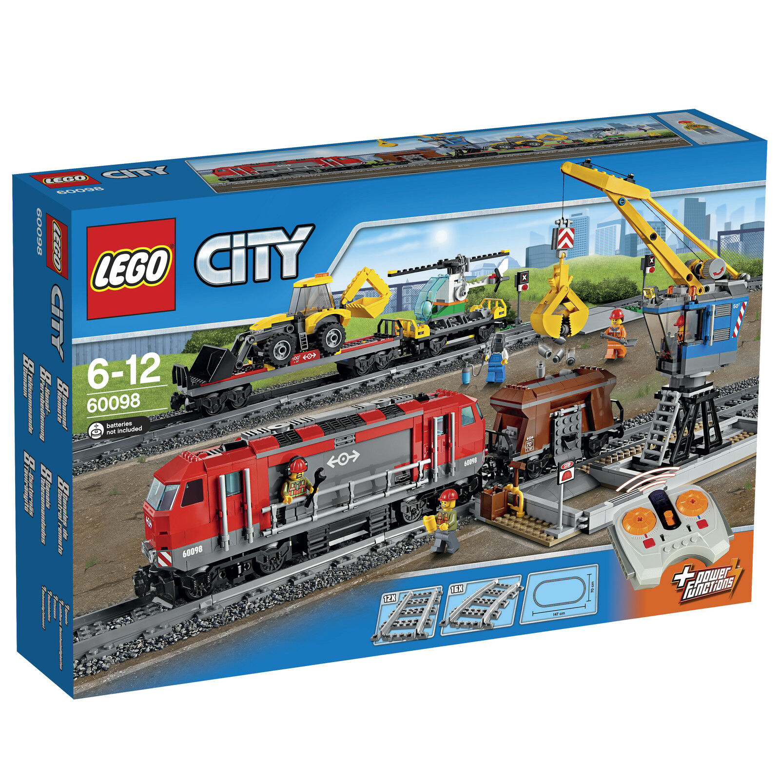LEGO ® City 60098 lourd poids neuf emballage d'origine _ Heavy-haul train New MISB NRFB