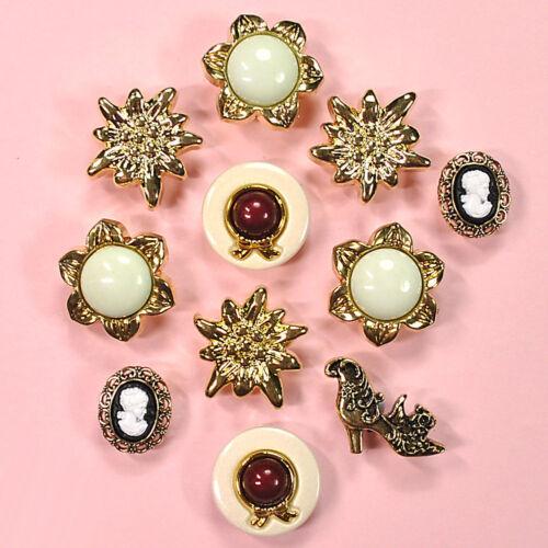Art Deco Dress it Up Buttons Galore Victorian Treasures 4410a