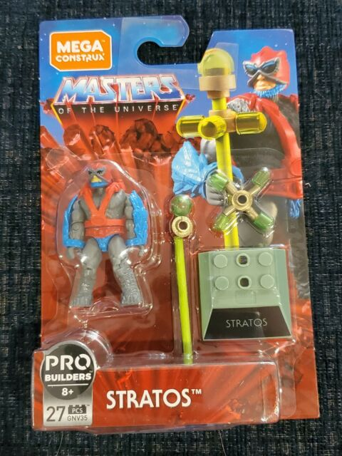 NEW Mega Construx Masters Of The Universe Stratos 27 Pieces on Hanger Card