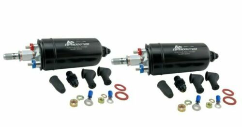 DUAL FUEL PUMPS 760LPH TOTAL FLOW RATE EXTERNAL INLINE REPLACES BOSCH 044 1000HP