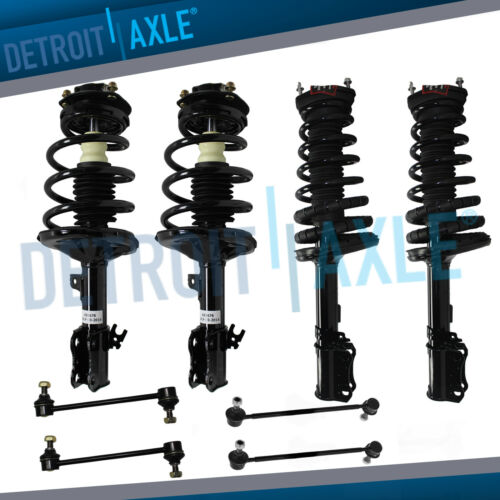 8pc Front /& Rear Strut Sway Links for 1997 1998 1999 2000 2001 Toyota Camry 3.0L