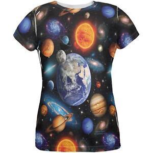 Galaxy Frauen Der T System shirt Ganz ᄄᄍber Solar Das ZxwZq6Ar