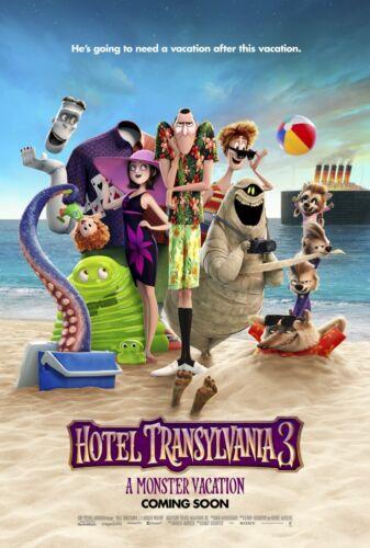 Custom Hotel Transylvania 3 Summer Vacation 3 Poster Print Art Wall Decor