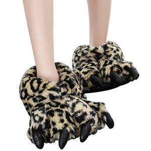 Claws-Cotton-Slippers-Winter-Plush-All-inclusive-Bear-Paw-Slippers-Warm-Shoes