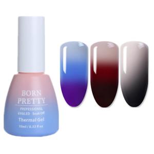 3Bottles-10ml-Thermal-Color-Changing-Soak-Off-UV-Gel-Polish-Nail-Art-Born-Pretty