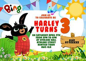 kids birthday party invitations