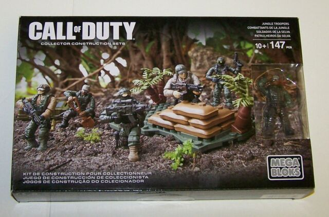Call of Duty CNF12 Mega Bloks Jungle Troopers New NIB Sealed 147 Pieces OOP Rare