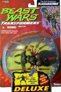 Transformers Beast Wars Deluxe Blackarachnia 1996 scellé à l'usine Nouveau