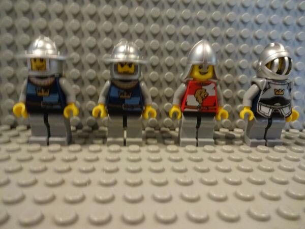 (b7/18) Lego 7953 10223 Cas418 Cas419 Cas426 Cas501 Cavaliere Usato Castello