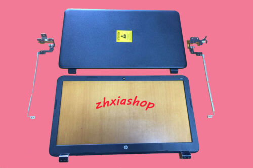New HP 15-g211la 15-g212la 15-g213la LCD back cover case Rear lid /& bezel hinges