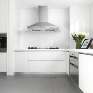 30 Inch Wall Mount Range Hood Kitchen Chimney Style Over Stove Vent 350 Cfm Ebay