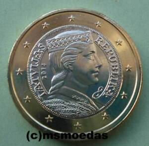 Lettland 1 Euro Münze Prägejahr 2014 Euromünze Coin Moedas