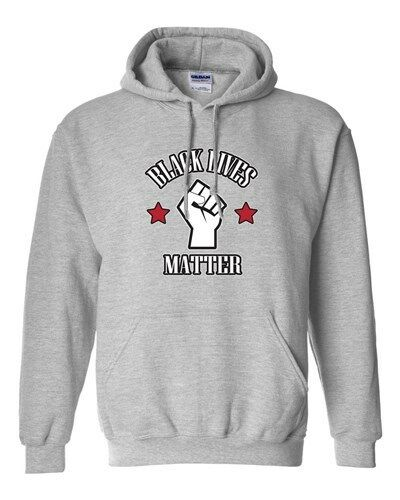 Black Lives Matter Support Protest Police Los Angeles DT Sweatshirt Hoodie