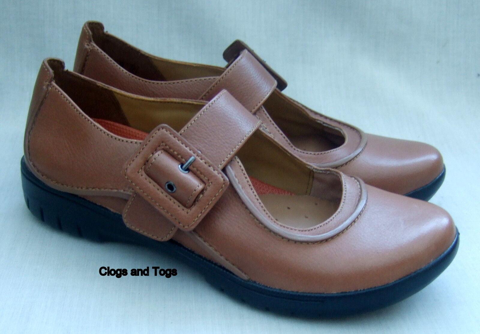 NEW CLARKS UNSTRUCTUROT UN BOUND Damenschuhe TAN LEATHER Schuhe