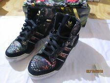 detailed look ea57c 2753c Adidas Attitude Hi Big Sean Floral Black Gold SZ 12 S84844 w