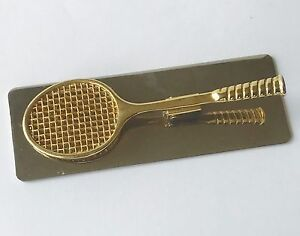 Silver-Gold-Brass-Tennis-Gift-Desktop-Clip-Business-Card-Holder-by-Andrea-Sadek