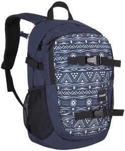 Erfinderisch Chiemsee School Backpack Rucksack Schulrucksack Laptoptasche Tasche Ikat Blue Auswahlmaterialien Kleidung & Accessoires