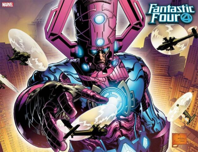 FANTASTIC FOUR #1 Joe Quesada Hidden Gem Wraparound VARIANT Cover DC Comics NM+