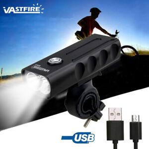 MTB-Bici-luz-delantera-1000LM-brillo-faro-USB-recargable-Lampara-cabeza-ciclismo
