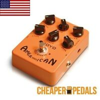 Joyo American Sound Jf-14 Fender Amp Sim Pedal Free Priority Mail Ship