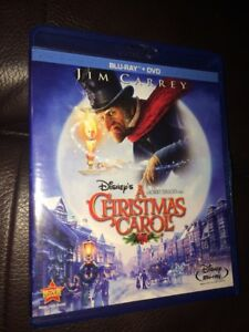 Disney's A Christmas Carol Jim Carrey Blu Ray + Dvd No Code Like New Plz Read D   eBay