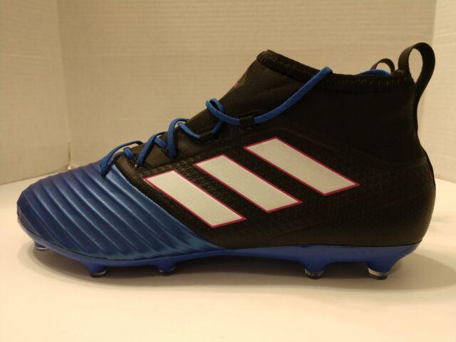 New Adidas ACE 17.2 Primemesh FG Soccer Cleats Blue Black BB4325 Mens Sz  10.5 26ea31846