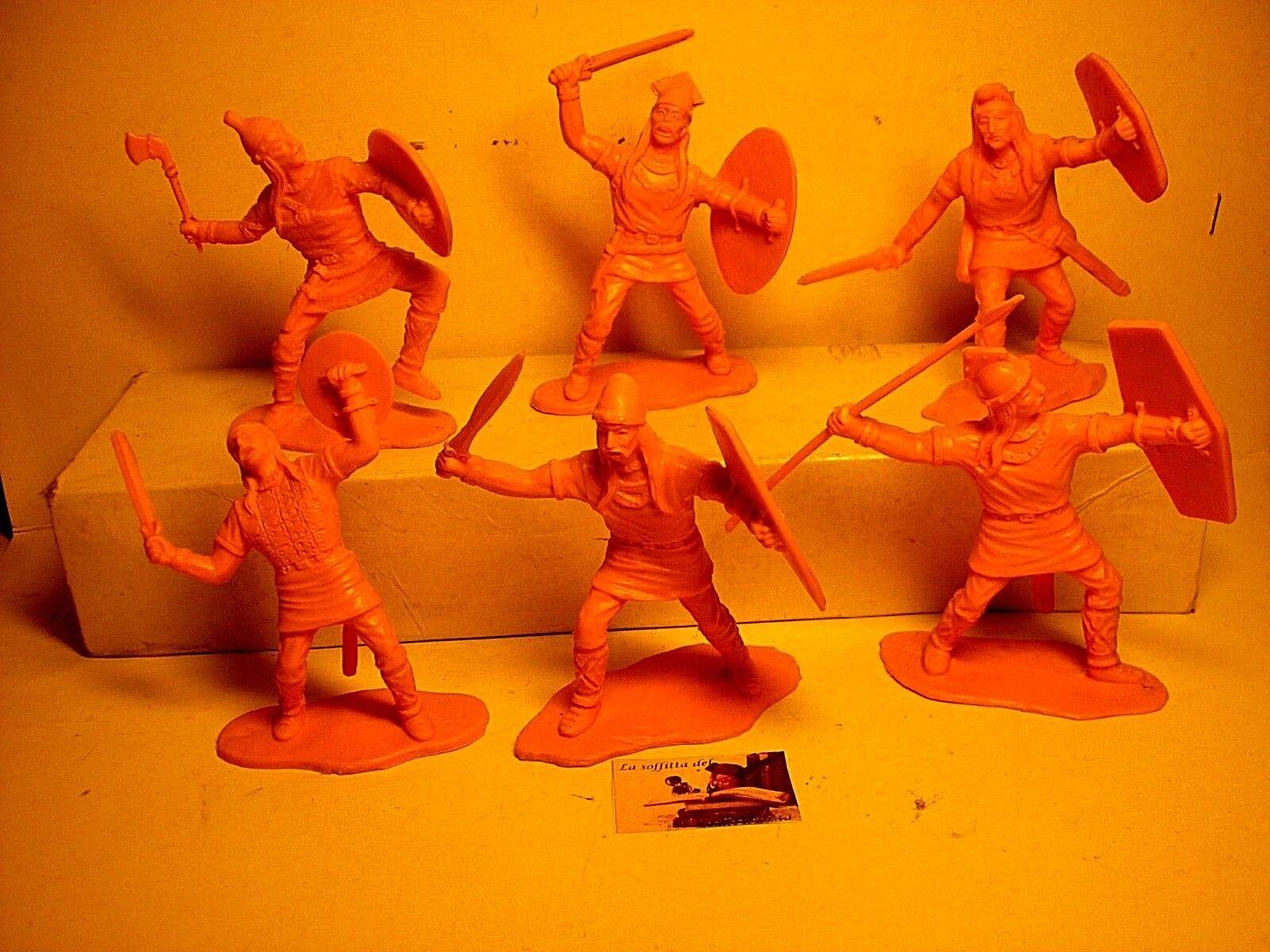 Soldatini Toy Soldier Reamsa Serie Guerrieri Celti plastica scala 1:32 cm 6,5