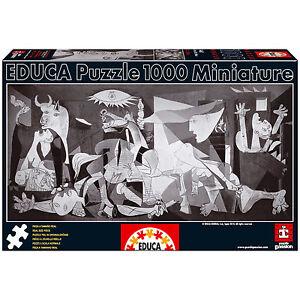 PUZZLE-1000-PIEZAS-TEILE-PIECES-MINIATURA-GUERNICA-PABLO-PICASSO-EDUCA-14460