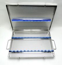 Orthopedic Micro Surgical Instrument Sterilization Autoclave Container Tray Case