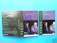 dvd,teatro,opera,giuseppe verdi macbeth,leo nucci,shirley verrett,theater,operas