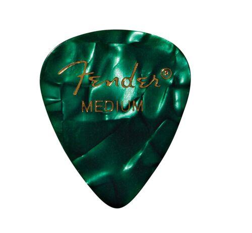 MEDIUM 144-Pack 1 Gross Fender 351 Premium Celluloid Guitar Picks GREEN MOTO