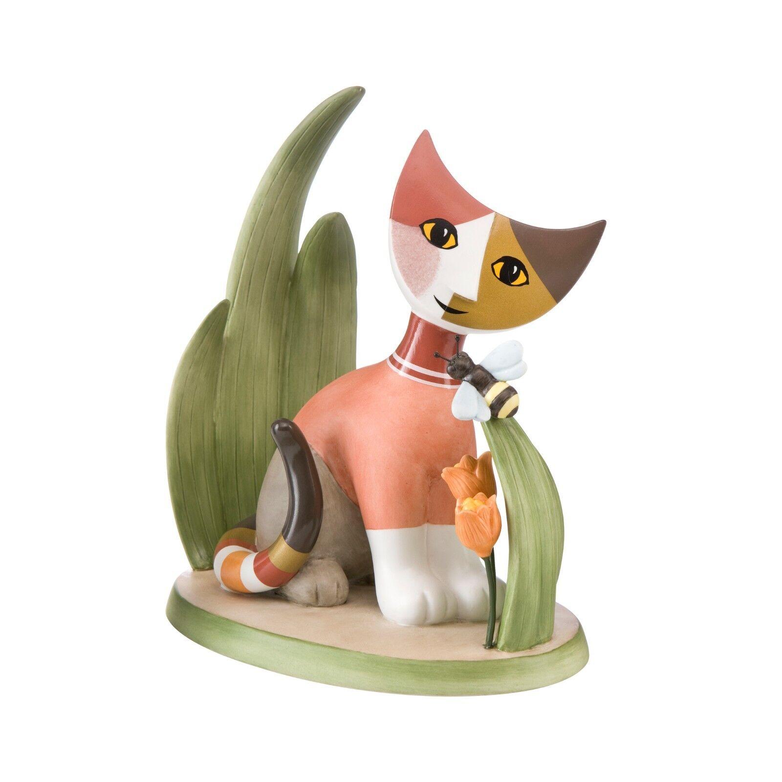 Goebel La mia piccola ape Katze NEUHEIT 2018 Rosina Wachtmeister Goebelkatze