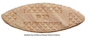 DeWalt-DT393-Size-10-Wood-Jointing-Biscuit-Dowels-55mm-X-20mm