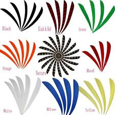4/5'' Right Wing Archery Turkey Fletching Feathers For DIY Wooden Carbon Arrows